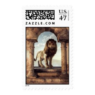 Door to the Lion's Kingdom Postage