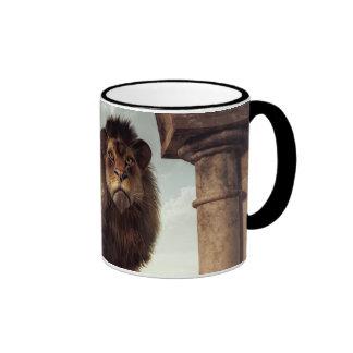 Door to the Lion's Kingdom Ringer Mug
