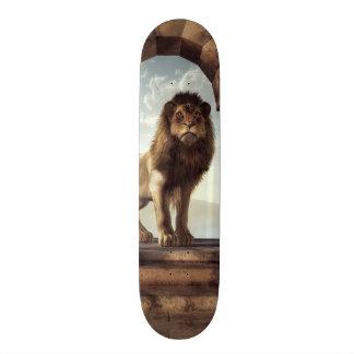 Door to the Lion's Kingdom Skateboard Deck