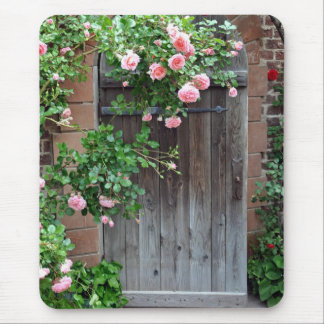 Door to the Secret Garden Mouse Pad