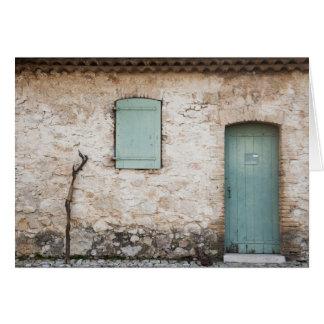 Door, Window, Walking Stick Card