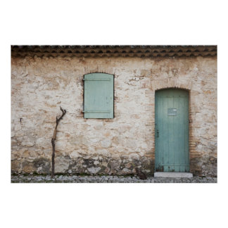 Door, Window, Walking Stick Poster