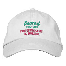 Doored 2012-2017 Commemorative Hat at Zazzle