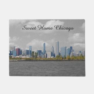 Doormat casero dulce del horizonte de Chicago Felpudo