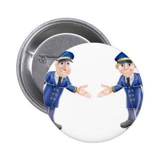 Doormen or bellhops pin