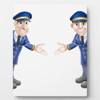 Doormen or bellhops photo plaques