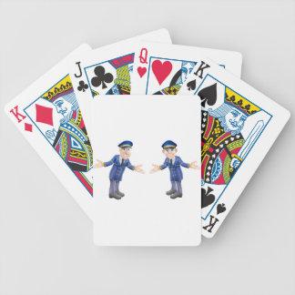 Doormen or bellhops poker deck