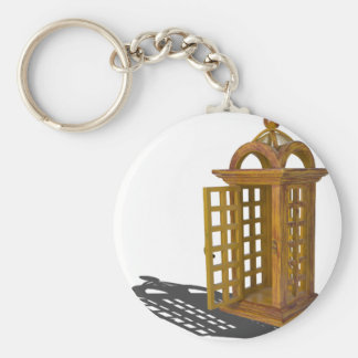 DoorOpenPhoneBooth122814.png Basic Round Button Keychain