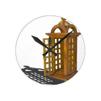 DoorOpenPhoneBooth122814.png Round Clock