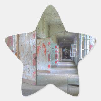 Doors and Corridors 02.1, Lost Places, Beelitz Star Sticker