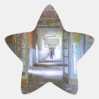 Doors and Corridors 03.0, Lost Places, Beelitz Star Sticker