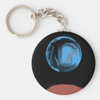 Doors Between Worlds by CricketDiane Basic Round Button Keychain