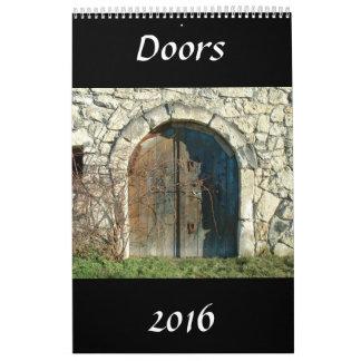 Doors Calendar 2016