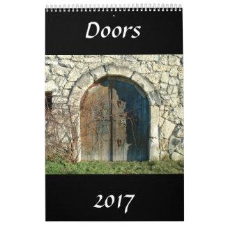 Doors Calendar 2017