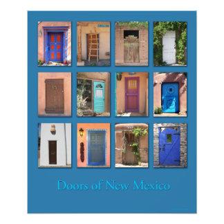 Doors of New Mexico version 1 Photo Art