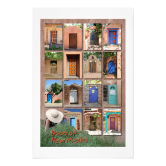 Doors of New Mexico version 2 Photo Print