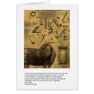 Doors Of Perception Greeting Card