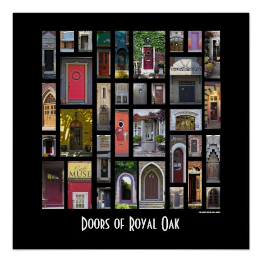 Doors of Royal Oak Poster