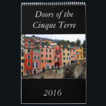 "Doors of the Cinque Terre 2016 Calendar<br><div class=""desc"">This beautiful calendar feature twelve doors from the Cinque Terre trail in Italy. For those of you who love this part of Europe or for those of you who dream of hiking along this magical trail,  the Doors of Cinque Terre Calendar makes a wonderful gift!</div>"