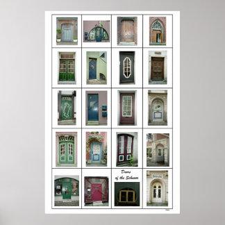 Doors of the Schnoor Poster