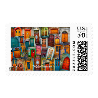 Doors of the World Postage Stamps