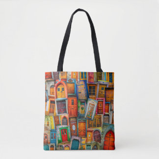Doors of the World Tote Bag