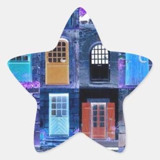 doors star sticker