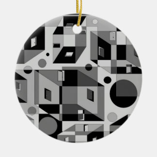 Doors to No Where Double-Sided Ceramic Round Christmas Ornament