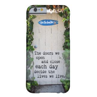 Doors We Open door photograph iPhone case