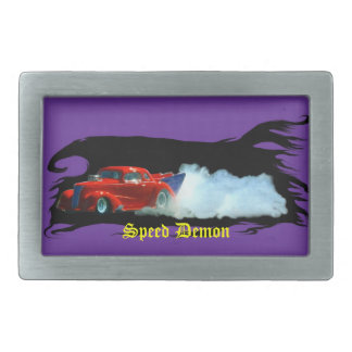 Doorslammer Drag Car Speedway Race Drivers Buckle Rectangular Belt Buckle