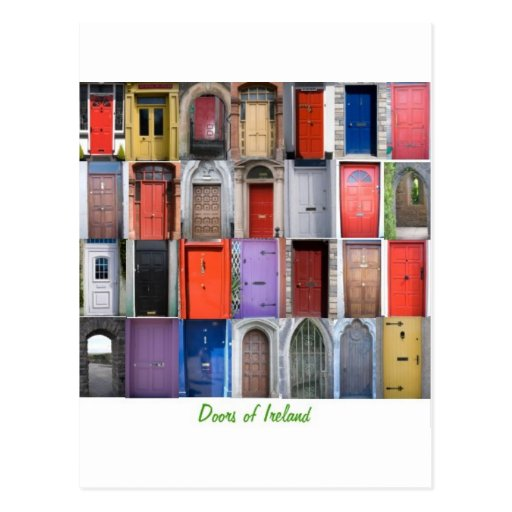 doorsofIreland Postcard