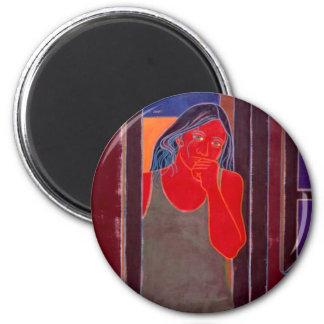 Doorway 2 Inch Round Magnet