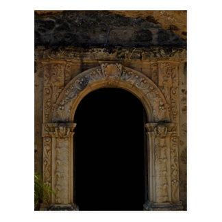 Doorway at Mission San Jose Postcard