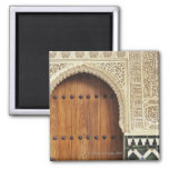 Doorway at the Alhambra palace in Granada, Spain 2 2 Inch Square Magnet