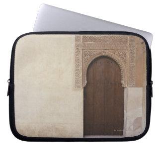 Doorway at the Alhambra palace in Granada, Spain Laptop Computer Sleeves