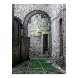 Doorway in Erice Sicily Postcard