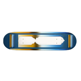 Doorway in Time - cricketdiane design Custom Skate Board