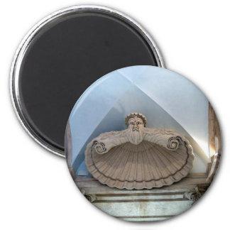 Doorway of Capitoline Museum 2 Inch Round Magnet