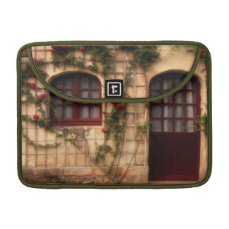 Doorway of rose cottage sleeves for MacBook pro