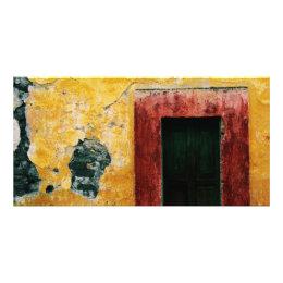 Doorway, San Miguel de Allende, Mexico, Photo Card