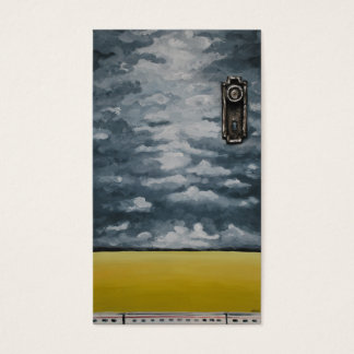 Doorway to a New Journey by Artist Alison Galvan Business Card