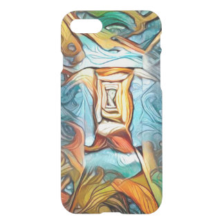 Doorway to beyond, abstract expression dreamscape iPhone 7 case