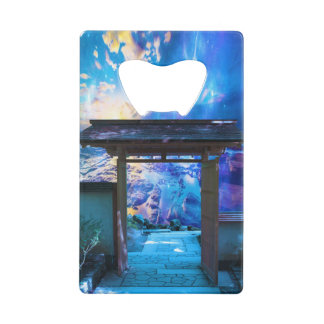 Doorway to Heaven Credit Card Bottle Opener