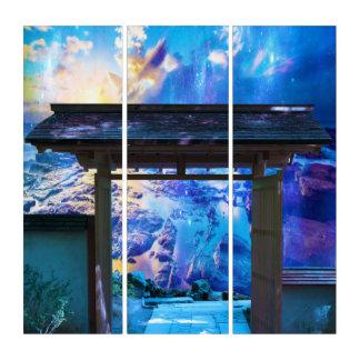 Doorway to Heaven Triptych