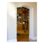Doorway to Home Library Postcard