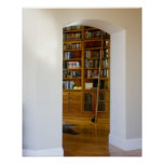 Doorway to Home Library Poster