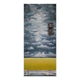 Doorway to new Journey by Artist Alison Galvan Rack Card Template