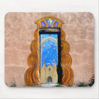 Doorway to Santa Fe Mousepad