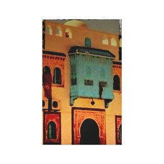 Doorway, Tunisia , North Africa Canvas Print