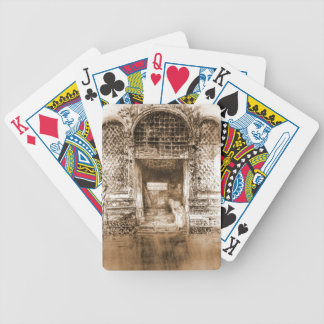 Doorway Venice Italy 1880 Bicycle Playing Cards